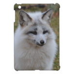 Adorable White Fox iPad Mini Cover