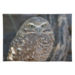 Burrowing Owl Cloth Placemat