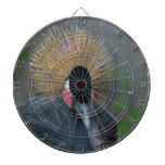 Curious African Crowned Crane Dart Board