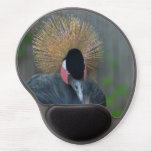 Curious African Crowned Crane Gel Mouse Pad