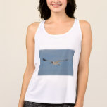 Gliding Laughing Gull Tank Top