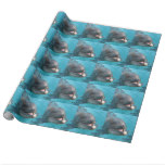 Happy Dolphin Wrapping Paper