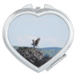 Osprey on Nest Compact Mirror