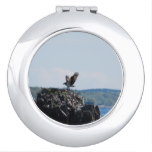 Osprey on Nest Makeup Mirror