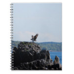 Osprey on Nest Notebook