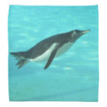Penguin Swimming Underwater Bandana