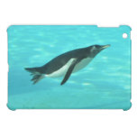 Penguin Swimming Underwater iPad Mini Covers