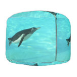 Penguin Swimming Underwater Pouf