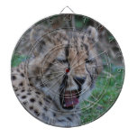 Sleepy Cheetah Cub Dartboard