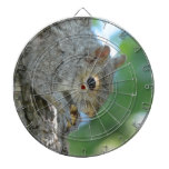 Squirrel Hanging in A Tree Dart Board