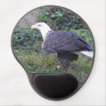 Standing American Bald Eagle Gel Mouse Pad