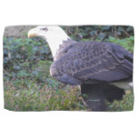 Standing American Bald Eagle Kitchen Towel