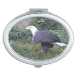 Standing American Bald Eagle Mirror For Makeup
