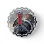Wild Turkey Picture Button